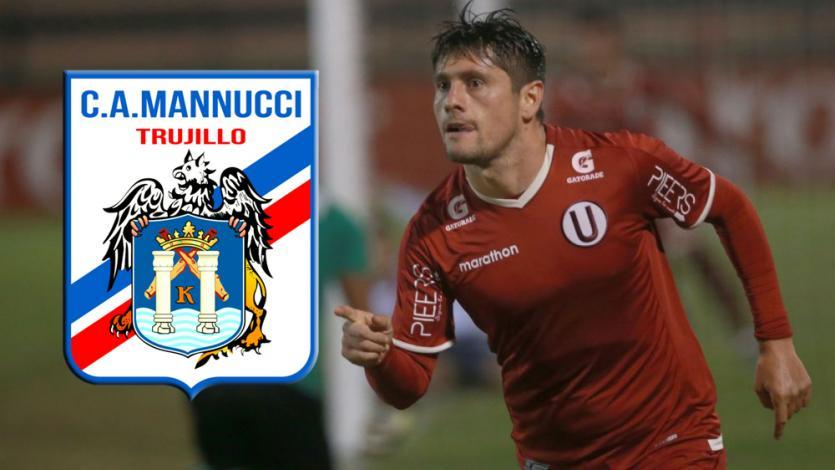Diego Manicero es nuevo jugador del Carlos Mannucci de Trujillo