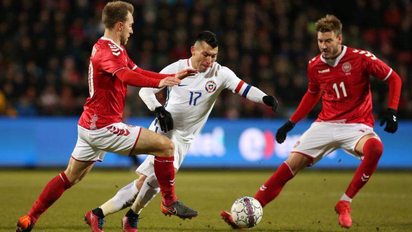 Dinamarca empató sin goles ante Chile