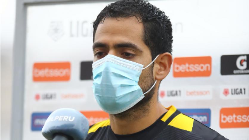 """José Lozada: """"Es algo atípico para un arquero entrar en el segundo tiempo de esa manera"""" (VIDEO)"""