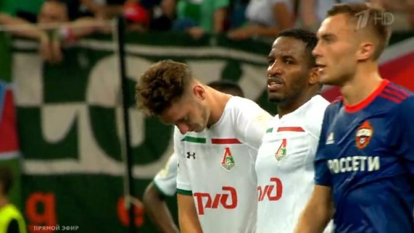 Jefferson Farfán y el Lokomotiv se quedaron sin la Supercopa rusa
