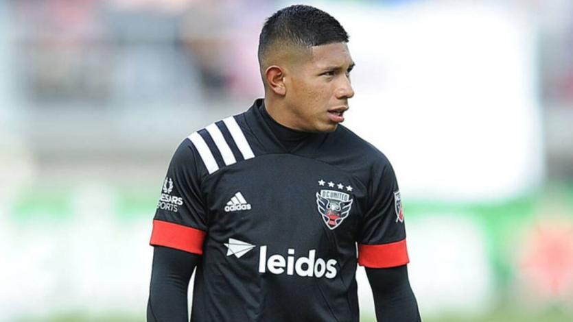 Edison Flores volvió a jugar luego de un mes y medio en la caída del DC United por la MLS