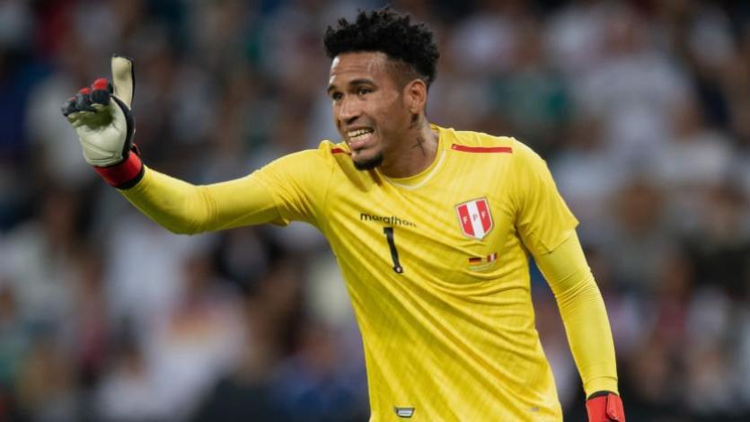 Pedro Gallese tras la caída ante Colombia: