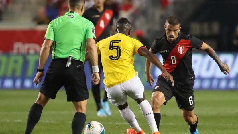 Perú vs. Ecuador: la asociación Costa, Cueva y Tapia que casi termina en golazo (VIDEO)