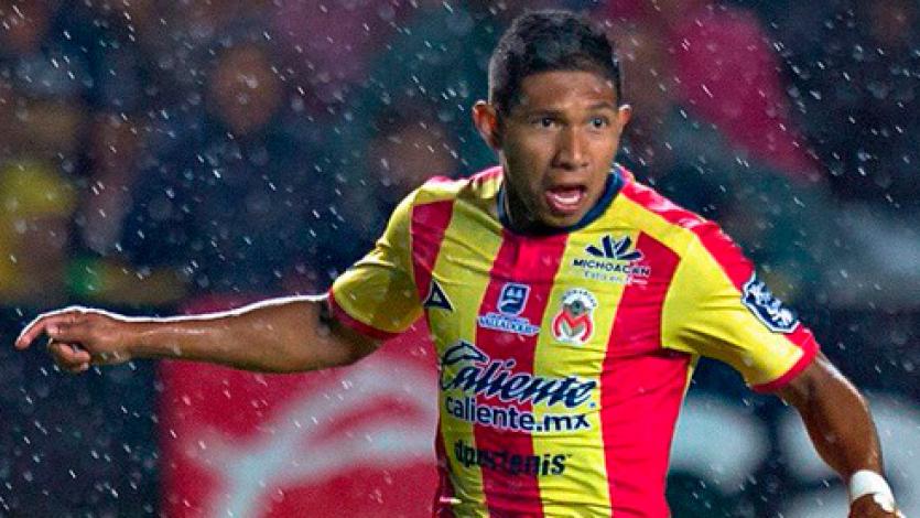 Con un gol de Edison Flores, Morelia cayó 3-2 ante Monterrey