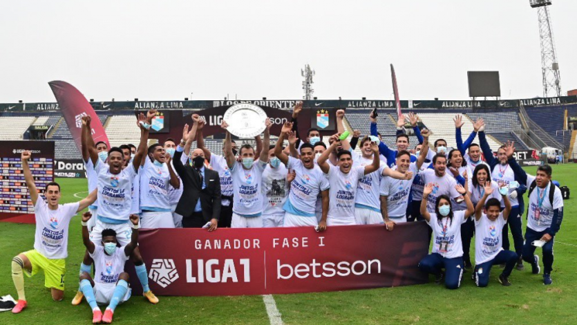 Liga1 Betsson: Sporting Cristal superó por 2-0 a San Martín y se quedó con la Fase 1 (VIDEO)