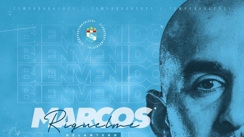 Sporting Cristal: Marcos Riquelme es el nuevo delantero del cuadro celeste