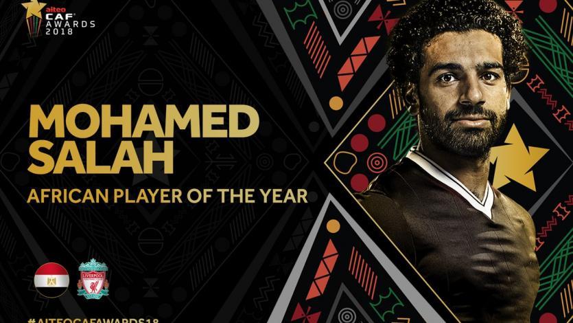 Mohamed Salah repite el plato como mejor jugador africano del año