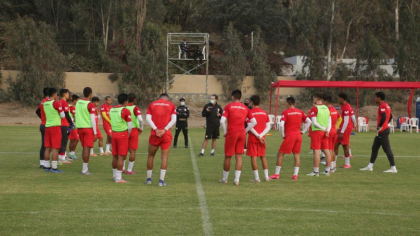 Selección Peruana Sub-20 sumó un día más de entrenamiento en Cieneguilla (VIDEO)