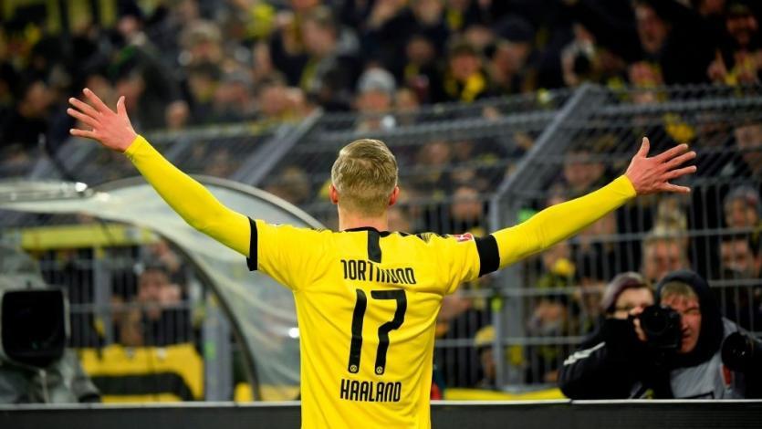 Erling Haaland sigue imparable y le dio un nuevo triunfo al Borussia Dortmund (VIDEO)