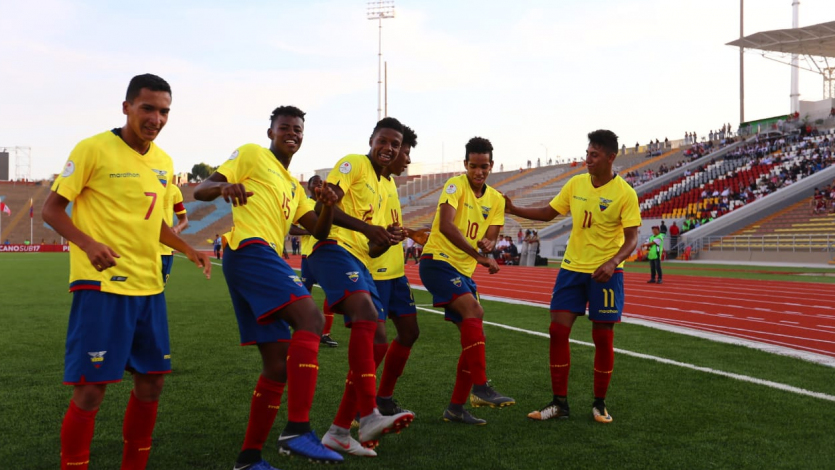 Sudamericano Sub 17: Ecuador supera a Bolivia y trepa a la cima