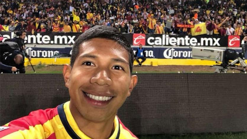 Edison Flores debuta en el fútbol mexicano con Morelia