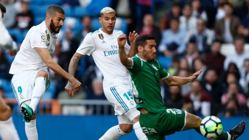 Real Madrid venció a Leganés sin sus figuras
