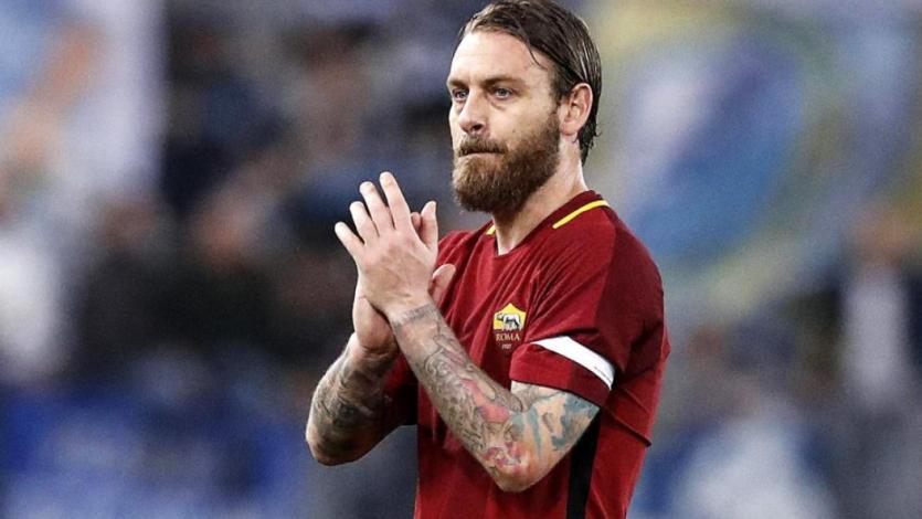 Daniele De Rossi deja la Roma tras 18 temporadas