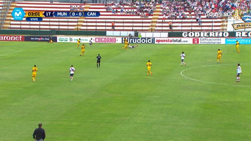 EN VIVO por GOLPERU: Deportivo Municipal 3-0 Cantolao