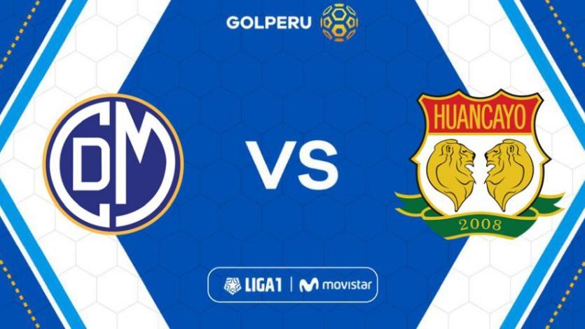 Deportivo Municipal vs Sport Huancayo por la fecha 4 de la Liga1 Movistar