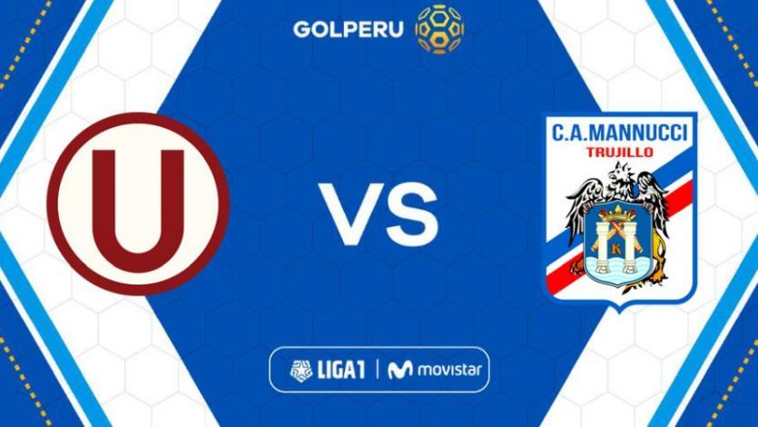 Universitario vs Carlos Mannucci por la fecha 4 de la Liga1 Movistar