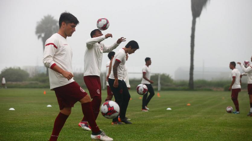 Universitario de Deportes continúa entrenando con miras al amistoso con Andrea Pirlo