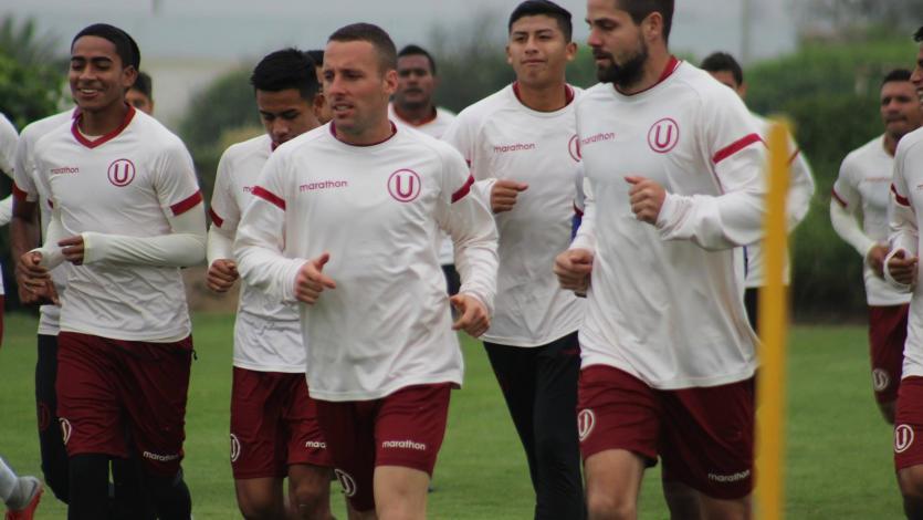 Universitario de Deportes sigue preparándose para el encuentro ante Universidad San Martín