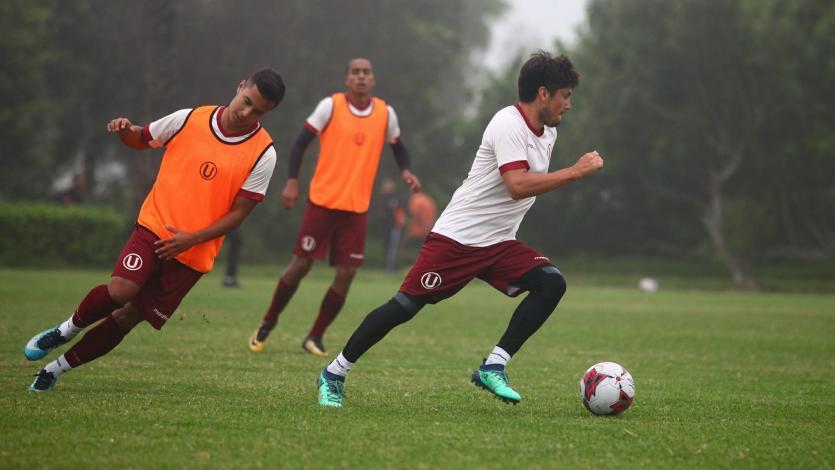 Universitario de Deportes siguen con sus entrenamientos con miras al partido ante Academia Cantolao