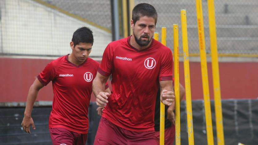 Universitario de Deportes entrenó en el estadio Monumental con miras al partido ante Comerciantes Unidos