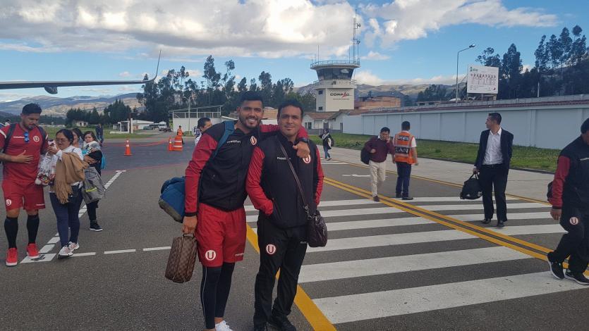 Universitario entrenó y viajó a Cajabamba para enfrentar a UTC