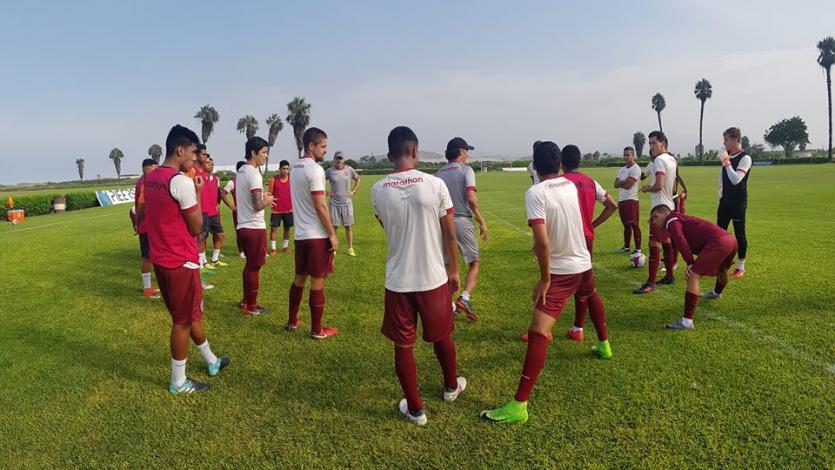 Universitario de Deportes sigue preparándose de cara a la reanudación del Torneo de Verano