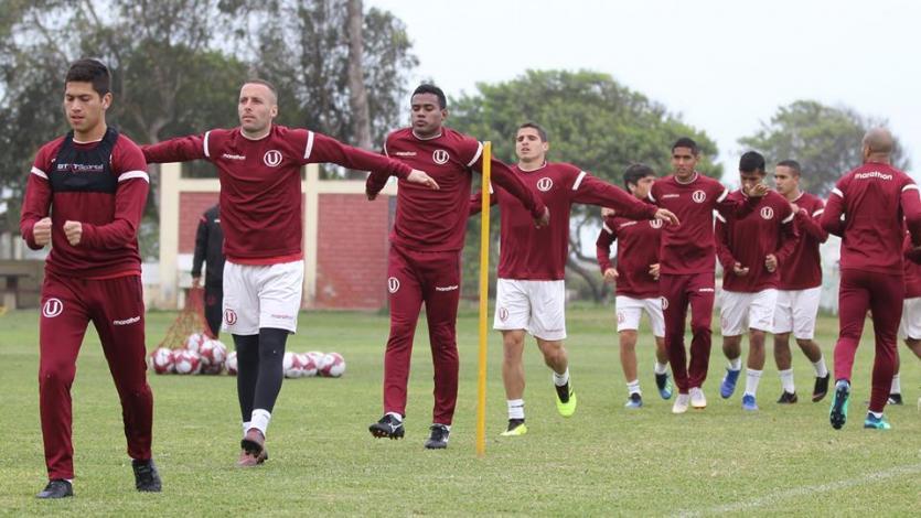 Universitario de Deportes sigue entrenando con miras a la segunda fecha del Torneo Clausura
