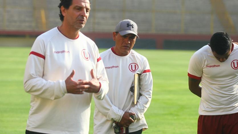 Universitario de Deportes sigue preparándose con miras al partido ante Melgar