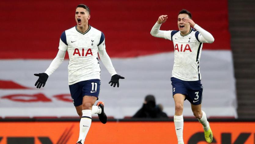 Arsenal vs Tottenham: así fue el espectacular golazo de Erik Lamela en la Premier League (VIDEO)
