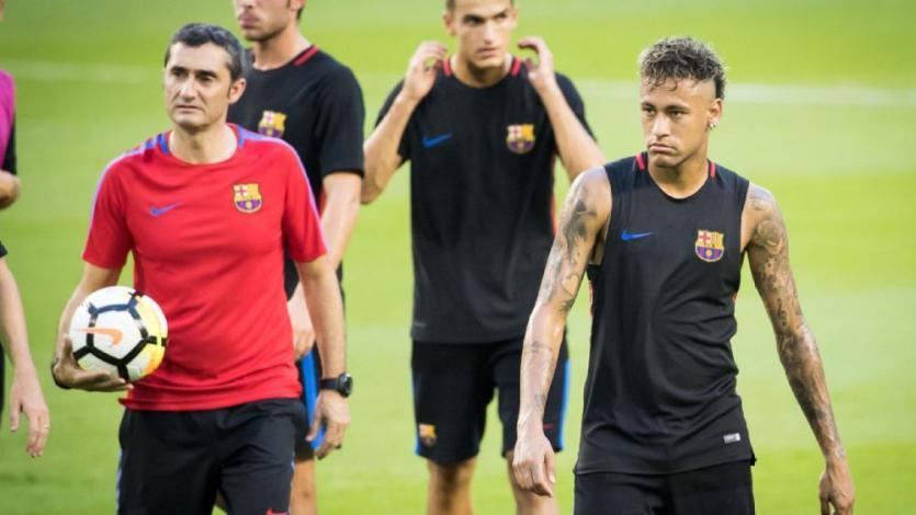 Ernesto Valverde sobre el fichaje de Neymar: