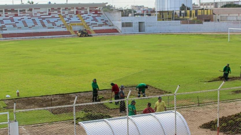 Liga1 Movistar: estadio César Flores Marigorda, la nueva localía de Carlos Stein va quedando lista (FOTOS)