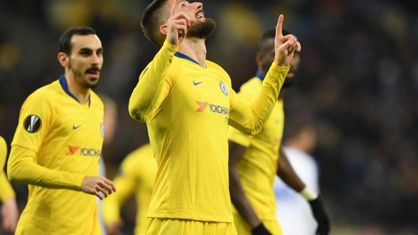 Europa League: Chelsea golea y saca cartel de candidato