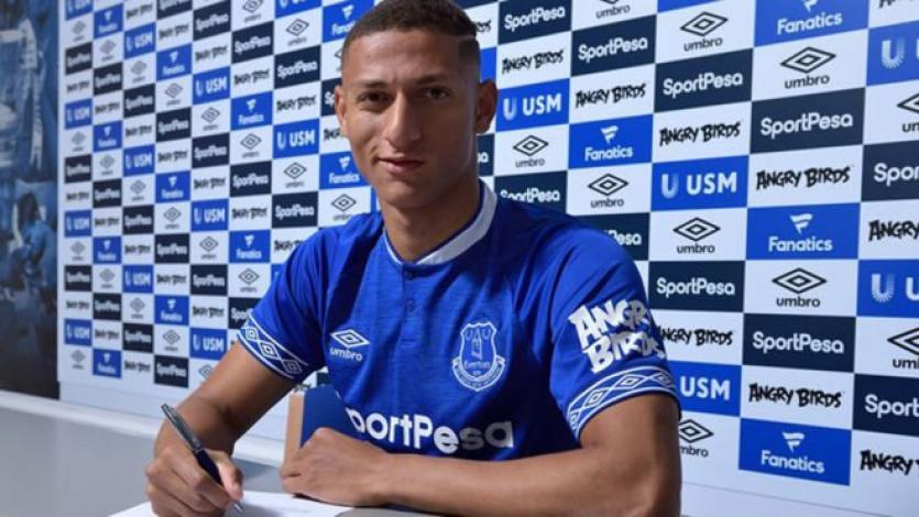 Everton rompe su récord para fichar a Richarlison
