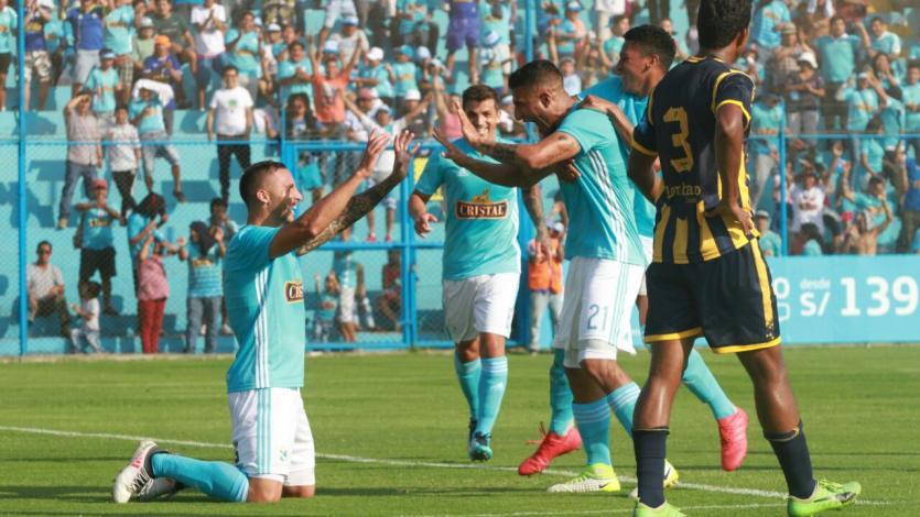 Sporting Cristal venció 4- 1 a Sport Rosario