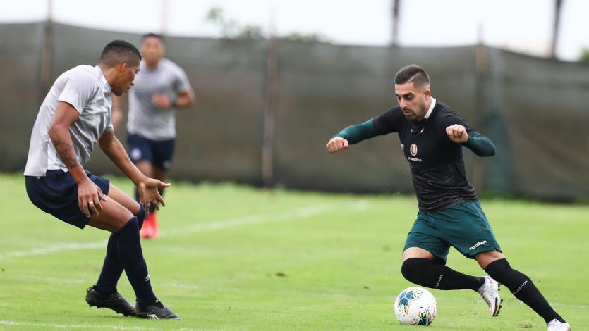 Universitario y Deportivo Municipal sostuvieron dos partidos amistosos de cara al reinicio de la Liga1 Betsson