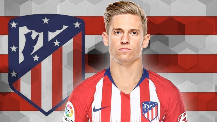 Atlético Madrid le da la bienvenida a Marcos Llorente