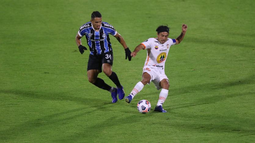 Copa Libertadores: Ayacucho FC cayó 2-1 ante Gremio y quedó eliminado
