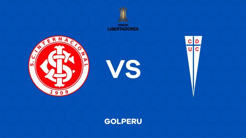 Copa Libertadores: con Paolo Guerrero, Inter recibe a la U. Católica por la fecha 1 de la fase de grupos