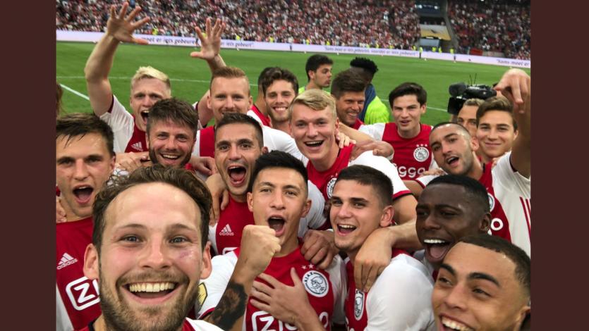 Ajax se impuso ante el PSV y se coronó como campeón de la Supercopa de Holanda