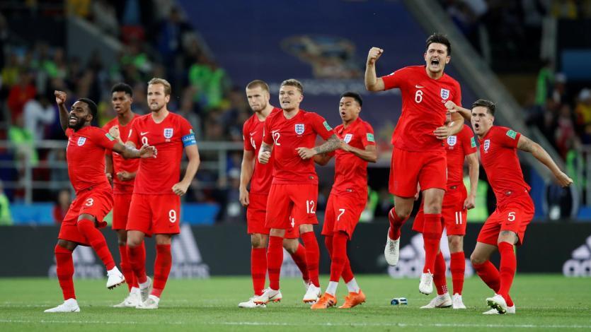 Inglaterra venció a Croacia y clasificó al Final Four