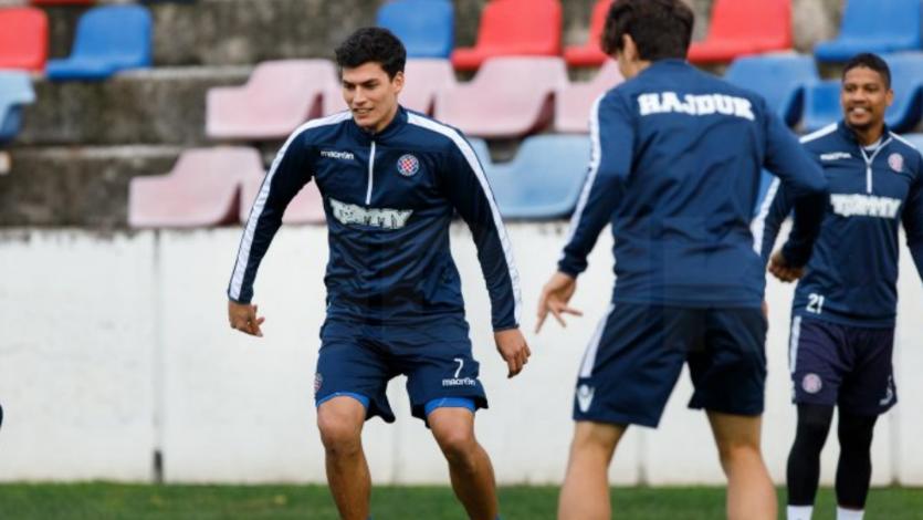 Iván Bulos dejó de ser jugador del Hajduk de Croacia