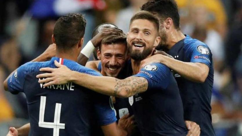 Francia cumplió y goleó 3-0 a Andorra rumbo a la Eurocopa 2020