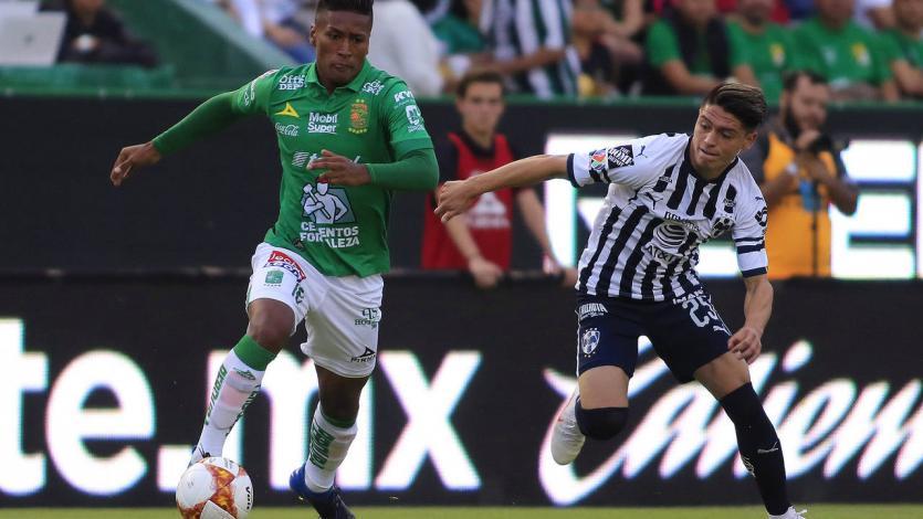 Con Pedro Aquino, León igualó ante Monterrey