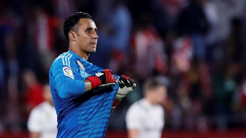 Real Madrid: Keylor Navas con pie y medio en la Premier League