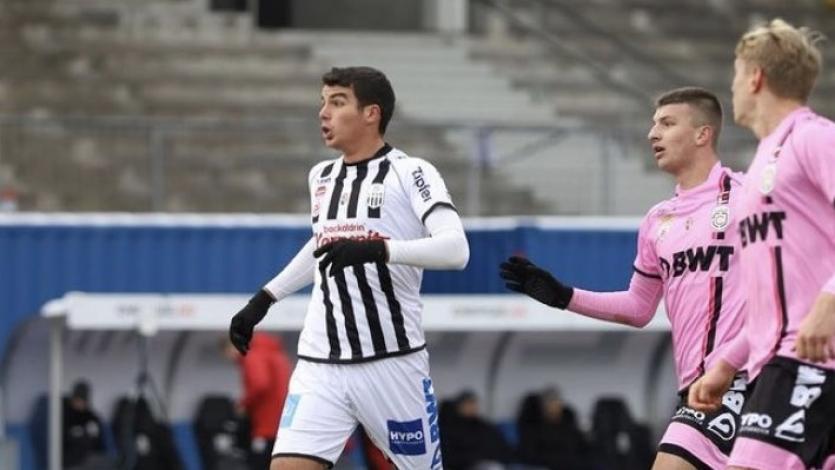 Matías Succar anotó su primer gol con la camiseta del LASK de Austria (VIDEO)