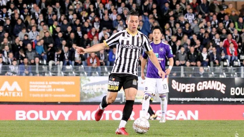 Cristian Benavente jugó en amistoso ante Niza