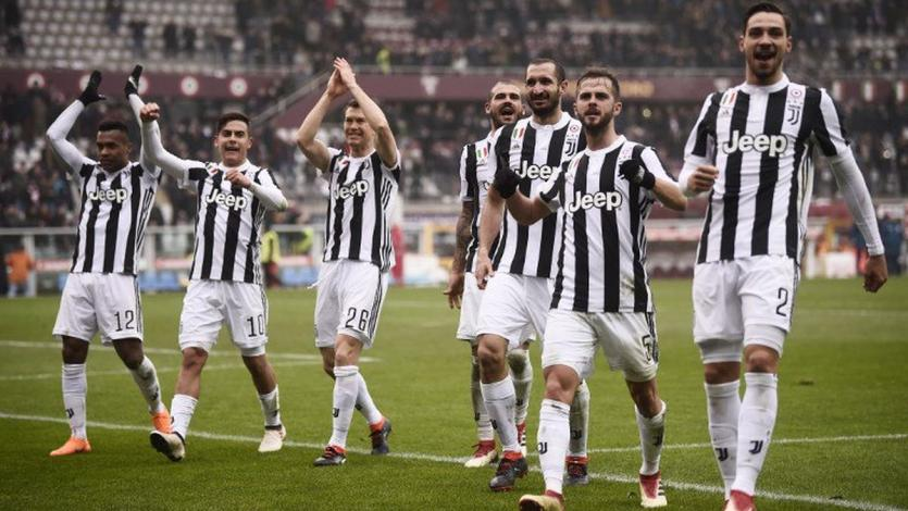 Serie A: Juventus se lleva el derby frente al Torino