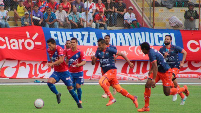 Segunda División: Carlos A. Mannucci y César Vallejo igualaron en la primera final