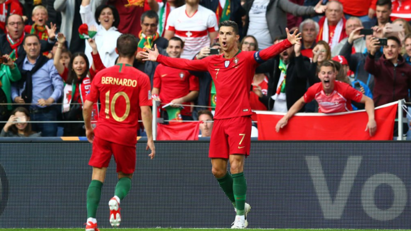 Cristiano Ronaldo clasificó a Portugal a la gran final de la UEFA Nations League