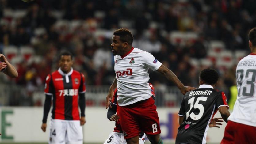 Europa League: Farfán y el Lokomotiv triunfaron en su visita al Niza
